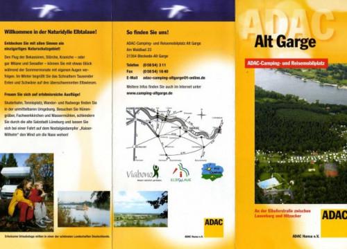 Prospekt Alt Garge ADAC