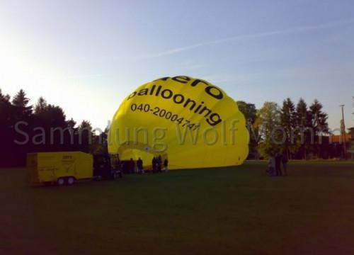Ballonflug 2006 - Vorbereitungen