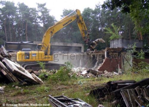 Abriß Krankenhaus 2008 - Bettenhaus