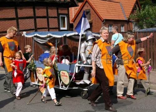 800 Jahre Umzug - Kindergarten Brackede