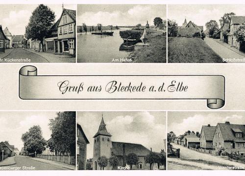 Ansichtskarte um 1954