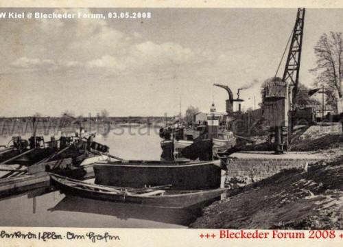 Hafen Bleckede 1940