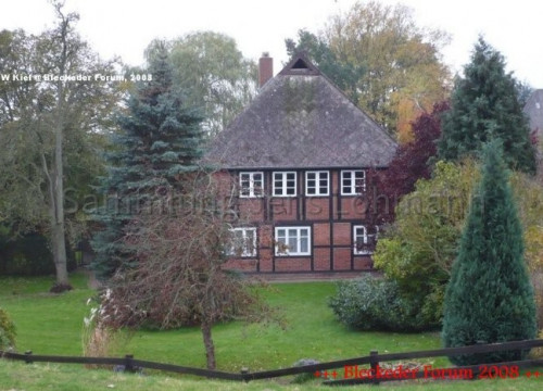 Fachwerkhaus Radegast 2008