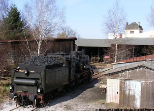 Dampflok im EAW März 2008