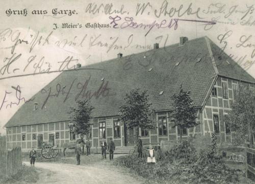 Meyers Gasthaus Carze 1905