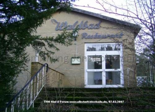 Waldbad Restaurant 2008 - Eingang