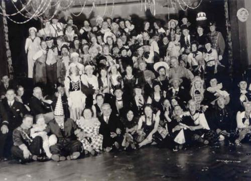 Maskerade 1937 Dittmers Hotel