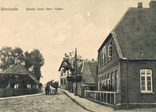 Blick in die Elbstraße
