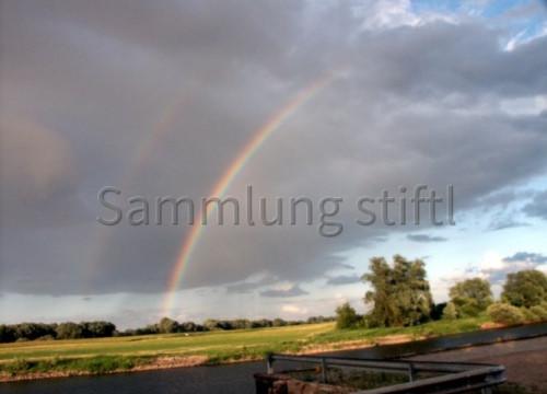 Doppelter Regenbogen 2008