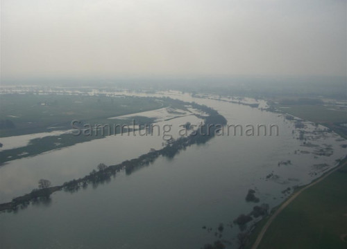 Luftaufnahme Bleckede - Elbe