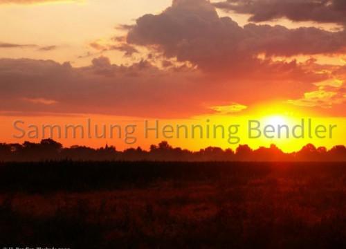 Sonnenaufgang über Bleckede