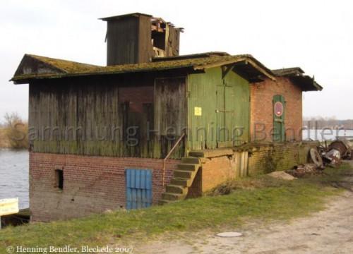 Lagerschuppen Hafen 2007