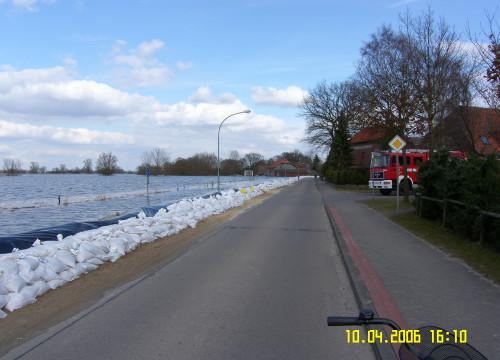 Hochwasser 10.04.2006