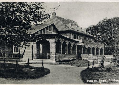 Sagers Gasthaus ca. 1930