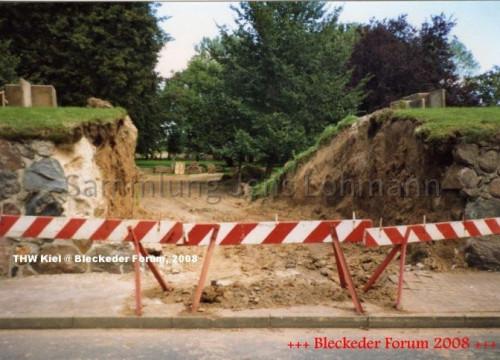 Bürgerpark, Mauerdurchbruch Sommerdeich 1991