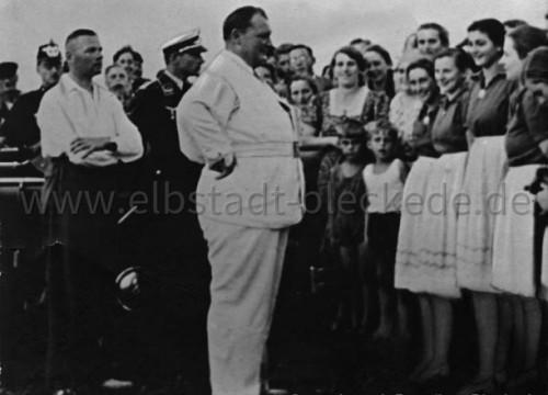 Hermann Göring in Bleckede