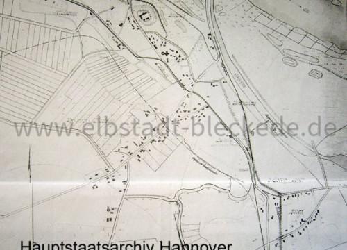 1917 - Karte Hauptstaatsarchiv Hannover