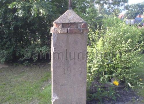 Steinpfeiler 1919