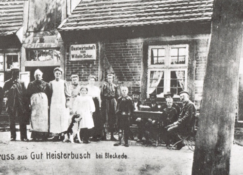 Gut Heisterbusch um 1910