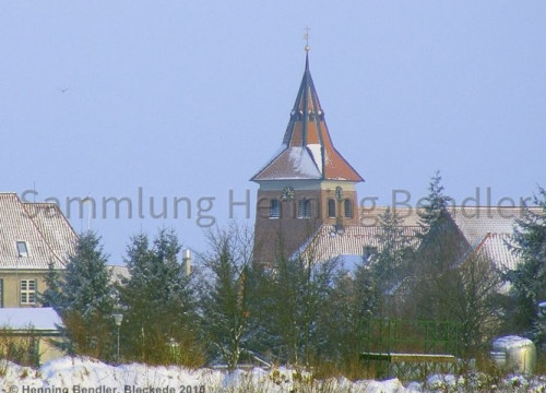 Kirche, Ansicht vom Töpferdamm aus
