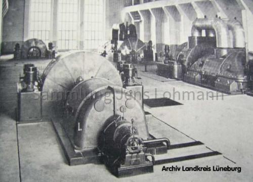 Kraftwerk Alt Garge - Turbinenraum
