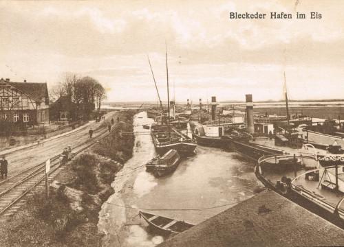Hafen im Eis 1923