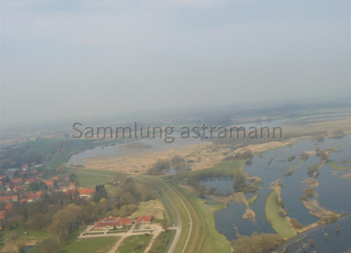 Luftaufnahme Bleckeder Haus/ Schießhalle