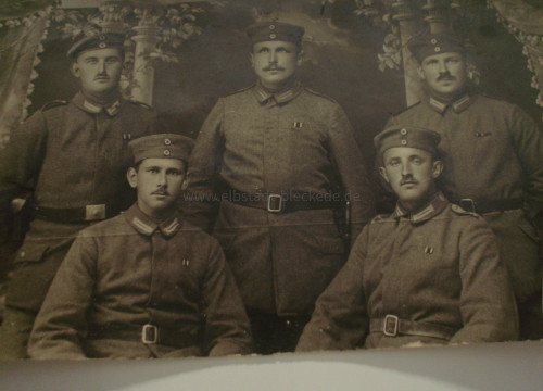 Heinrich Tippe aus Göddingen - sitzend rechts unten