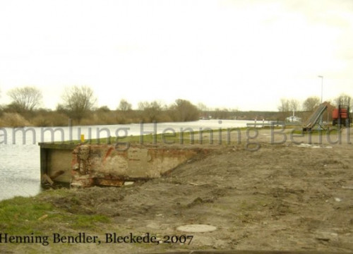 Hafen Bleckede - ohne Lagerschuppen 2007