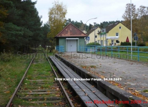 Der Alt Garger Draininenbahnhof.