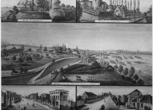 Federzeichnung von 1853