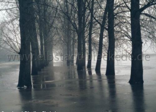 Schützenplatz Hochwasser 1985