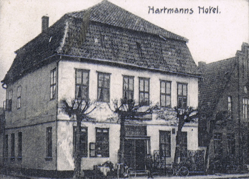 """""""Central-Hotel"""" (Hartmann`s Hotel)"""