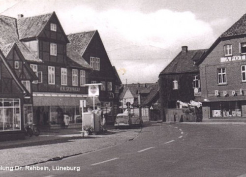 Tankstelle am Markt 1961