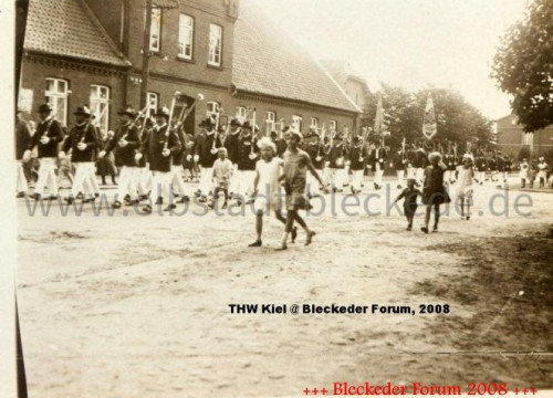 Schützenummarsch 1929