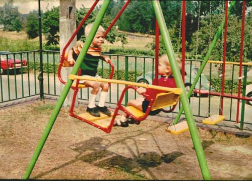 Pension Sager - Schaukel 1969