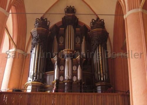 Kirchenorgel Bleckede 2007