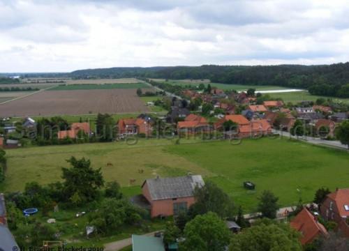 Luftaufnahme Walmsburg, Blickrichtung Katemin