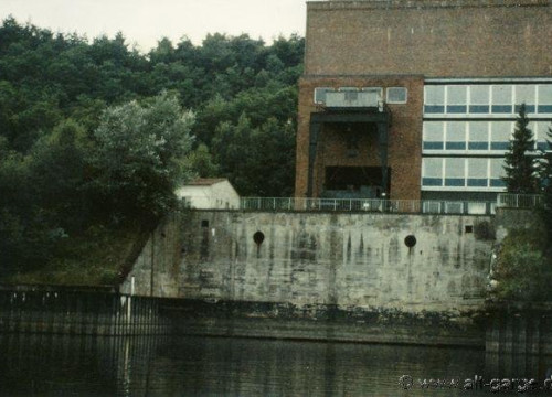 Abtranssport der Dampfspeicherlok 1985