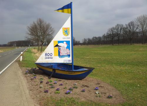800 Jahr Boot in Rosenthal