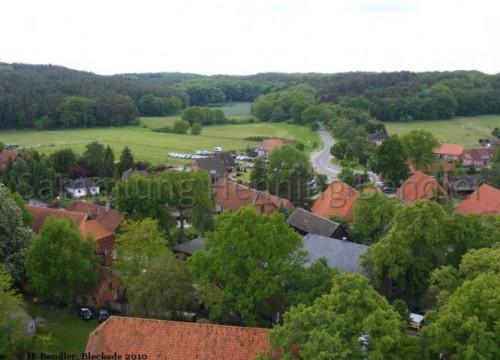 Walmsburg, Blickrichtung Barskamp