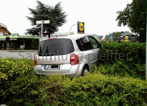 Alternativer Parkplatz Edeka
