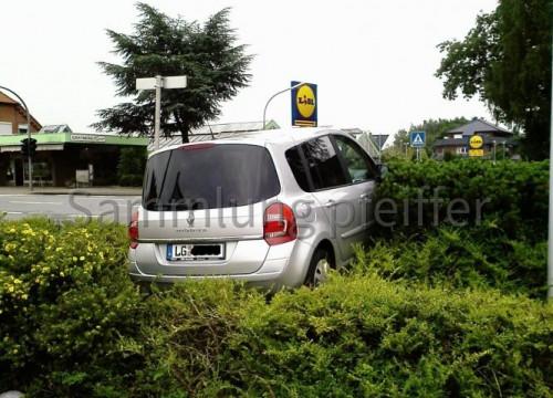 Alternativer Parkplatz Edeka