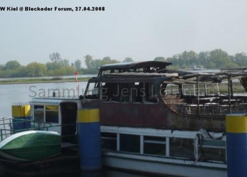 Bleckeder Löwe abgebrannt 2008