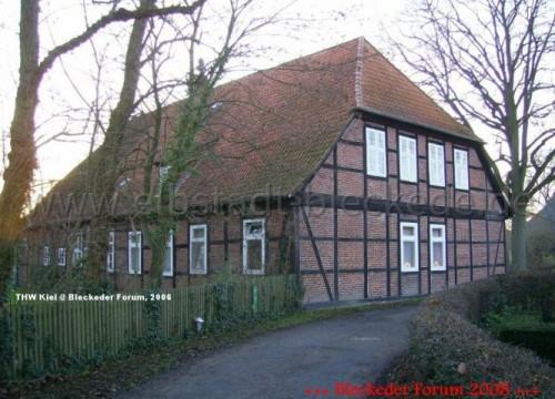 Das Radegaster Pfarrhaus am 10. Dezember 2006