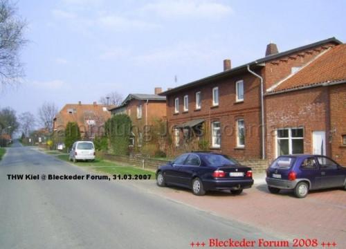 Ehemaliger Bahnhof und Molkerrei Brackede