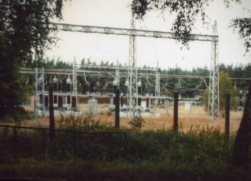 Umspannwerk Alt Garge ca. 1988