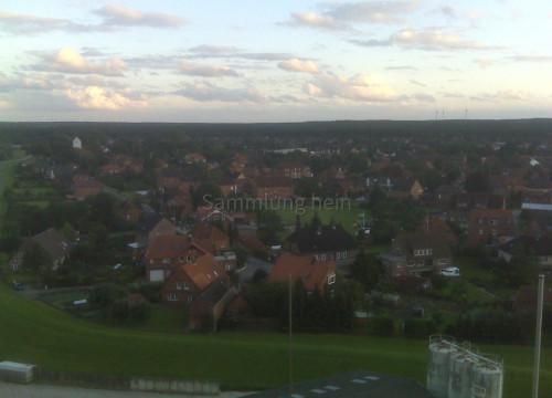Luftaufnahme Deich Silo 2011