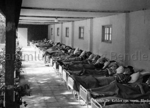 Krankenhaus Liegehalle