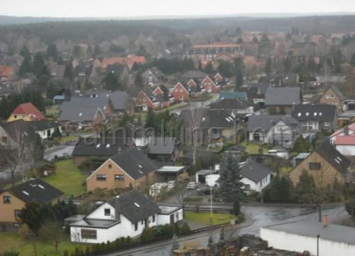 Luftaufnahme Bleckede - Neuhauser & Industriestraße